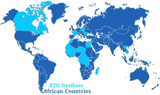 ETO Sterilizer Exporter in African Countries
