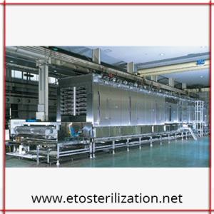 continuous steam sterilizer